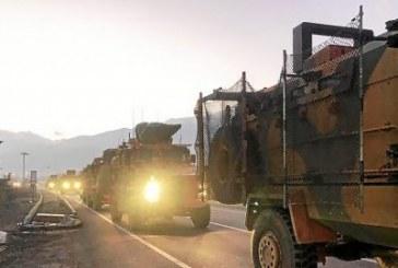 Nouveaux renforts militaires turcs à la frontière syrienne