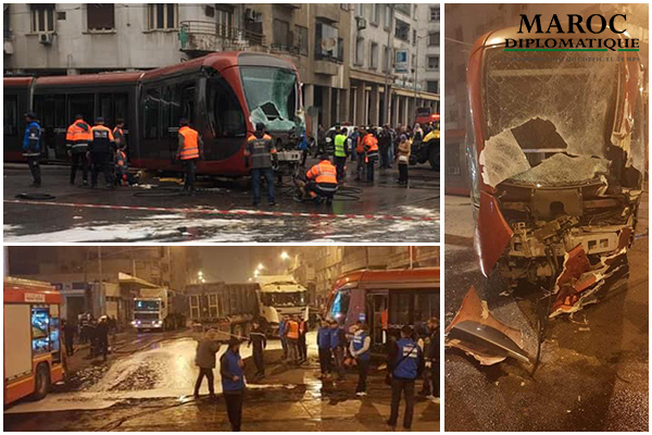 Nouvel accident de Tramway à Casablanca