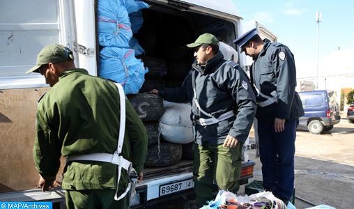 Fès: Interception de trois opérations de contrebande pour plus de 2 MDH en provenance de l'Oriental