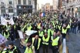 """France : les """"Gilets jaunes"""" dans la rue pour le 15ème samedi consécutif"""