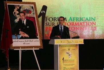Ouverture à Dakhla du premier Forum Africain sur la formation professionnelle