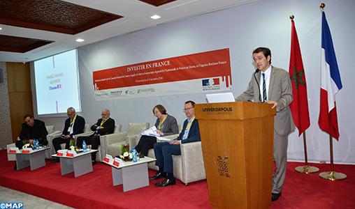 Les opportunités d'investissements en France présentées à Agadir