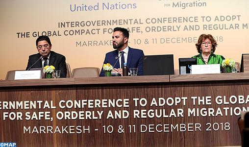 Clôture à Marrakech de la Conférence intergouvernementale sur la migration
