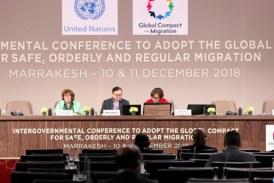 """Le Pacte mondial sur les migrations, """"une réussite de portée historique"""""""