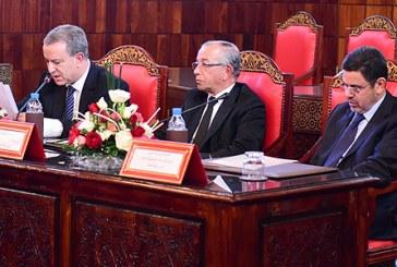 Réception en l'honneur des nouveaux responsables nommés dans les tribunaux du Royaume