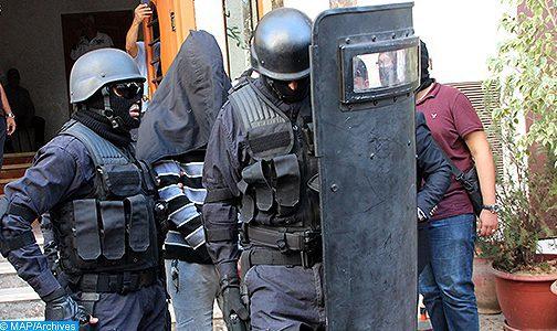 """Démantèlement à Béni Mellal d'une cellule terroriste présumée de """"Daech"""""""