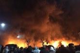 Un incendie envahit le marché de gros à Casablanca