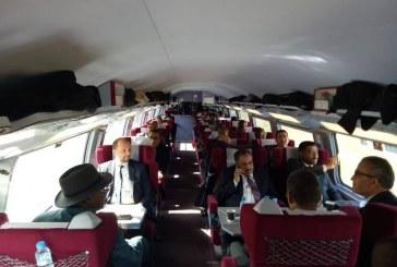 Les Ambassadeurs des pays africains ont effectué un déplacement en LGV