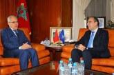 Loudyi reçoit le SG adjoint de l'OTAN, chargé des Affaires politiques et de la Politique de Sécurité