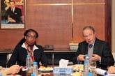 Les ODD au centre d'entretiens entre Lahlimi et la secrétaire exécutive de la CEA