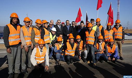 "Axe autoroutier Rabat-Kénitra: inauguration de l'échangeur ""Al Massira"""
