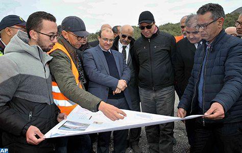 L'état d'avancement des travaux du barrage Oued Martil s'établit à 98%