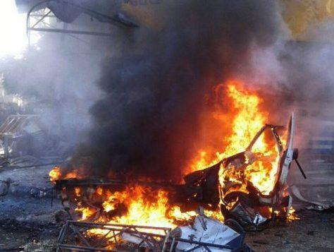 Attentats à Damas en Syrie
