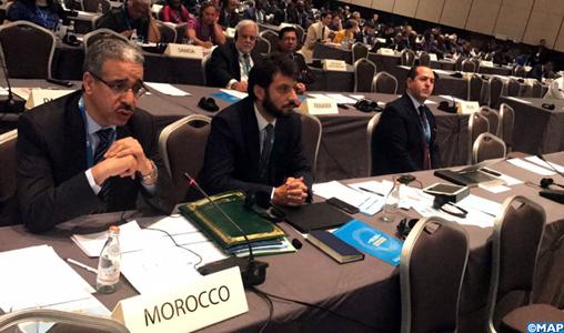 Aziz Rabbah tient une série de rencontres en marge de l'AG de l'IRENA