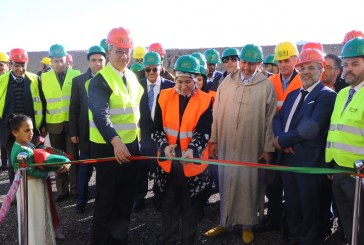 Inauguration du Centre d'Enfouissement et de Valorisation des déchets de Marrakech