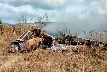 Premières images du crash de l'avion Mirage F-1 dans la région de Taounate