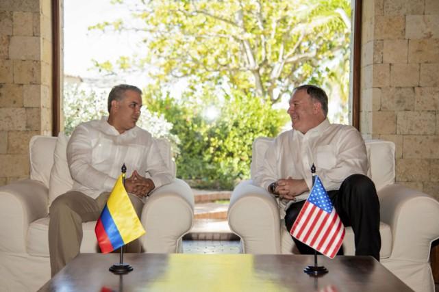 Les Etats-Unis et la Colombie s'accordent pour rétablir la démocratie au Venezuela