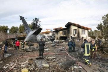 Iran: crash d'un avion cargo avec au moins 16 personnes à bord