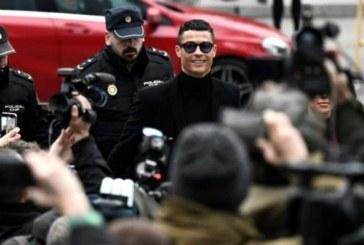 Espagne: Ronaldo condamné à une amende de 18,8 millions d'euros pour fraude fiscale