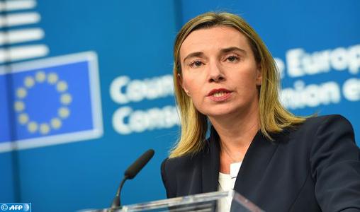 Maroc-UE: Federica Mogherini en visite à Rabat