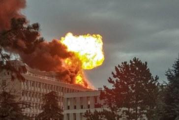 France : Trois personnes blessées dans un incendie sur un campus universitaire à Lyon