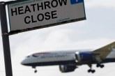 Londres : Annulation des vols au départ de Heathrow suite au signalement d'un drone