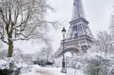 La neige fait son retour dans le nord et le centre de la France