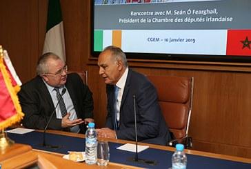 Le président de la Chambre des députés irlandaise met en exergue le rôle de leadership du Maroc en Afrique