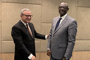 Coopération bilatérale: Aujjar s'entretient avec son homologue rwandais à Kigali