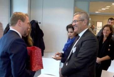 Mohamed Ben Abdelkader visite l'École d'administration publique de Wallonie-Bruxelles