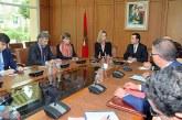 Benchaaboun s'entretient avec la Haute représentante de l'UE pour les Affaires étrangères