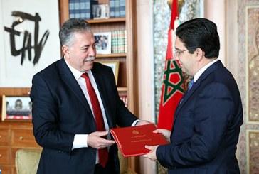 Bourita reçoit un émissaire du président tunisien, porteur d'un message à SM le Roi