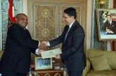 Nasser Bourita reçoit un émissaire du président comorien, porteur d'un message à SM le Roi
