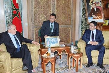 Nasser Bourita s'entretient avec le président du Parlement d'Amérique Latine