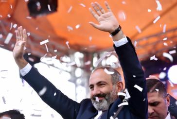 Arménie: Nikol Pachinian nommé Premier ministre