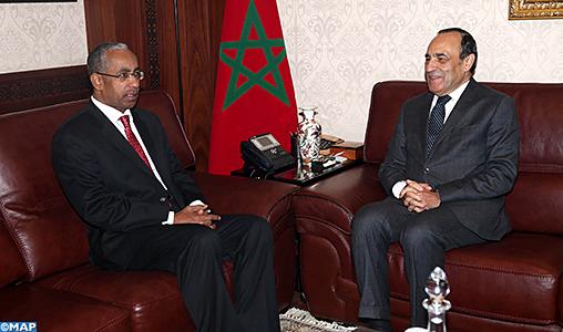 Le renforcement des relations parlementaires bilatérales au centre d'entretiens maroco-omanais
