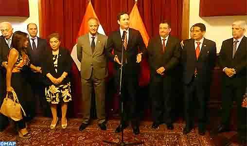 Le Pérou et le Maroc sont liés par des relations de longue date