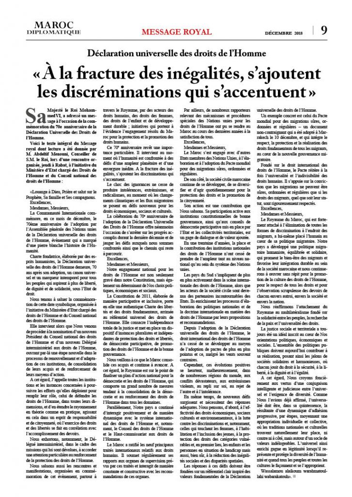 https://maroc-diplomatique.net/wp-content/uploads/2019/01/P.-9-Message-royal-Droits-de-lHomme-727x1024.jpg