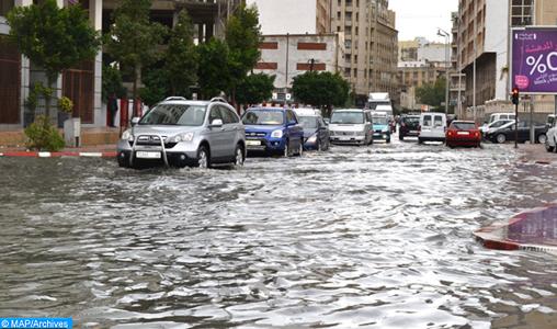 Météo: Pluies localement fortes et fortes rafales de vent d'Ouest samedi et dimanche