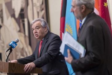 """Présidentielle en RDC: Le secrétaire général de l'ONU appelle à """"s'abstenir"""" d'actes violents"""