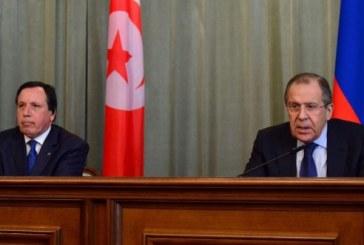 Tunisie: Lavrov plaide pour la création d'un front international de lutte contre le terrorisme