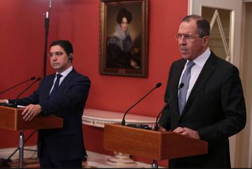Sergueï Lavrov est arrivé hier soir au Maroc