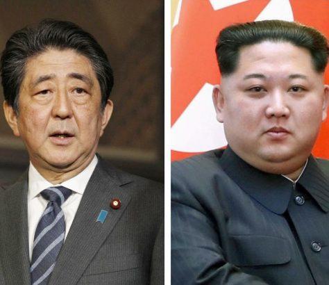 Japon: le Premier ministre Abe veut rencontrer Kim pour
