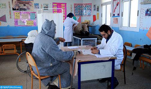 Taounate: Plus de 6.300 bénéficiaires d'une caravane médicale pluridisciplinaire