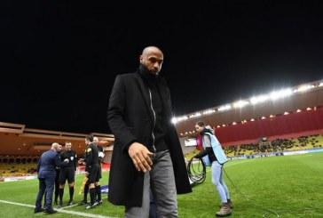 Thierry Henry suspendu de ses fonctions d'entraîneur de Monaco