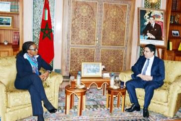 La ZLECA au centre d'entretiens entre Bourita et la secrétaire exécutive de la CEA