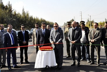 Plusieurs projets d'infrastructures routières lancés dans les provinces de Béni Mellal et Fquih Ben Saleh