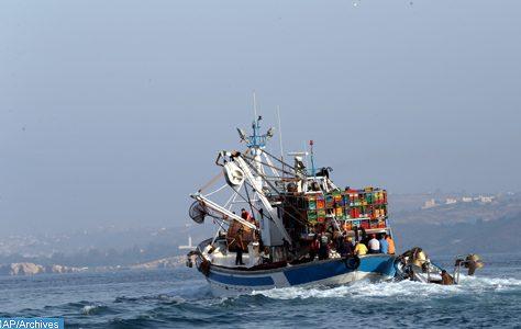Un sardinier marocain heurte un récif à Tarfaya