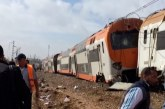 Urgent !! Accident de train à Casablanca