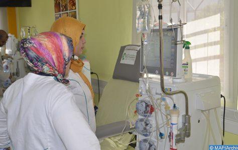 un centre d'hémodialyse